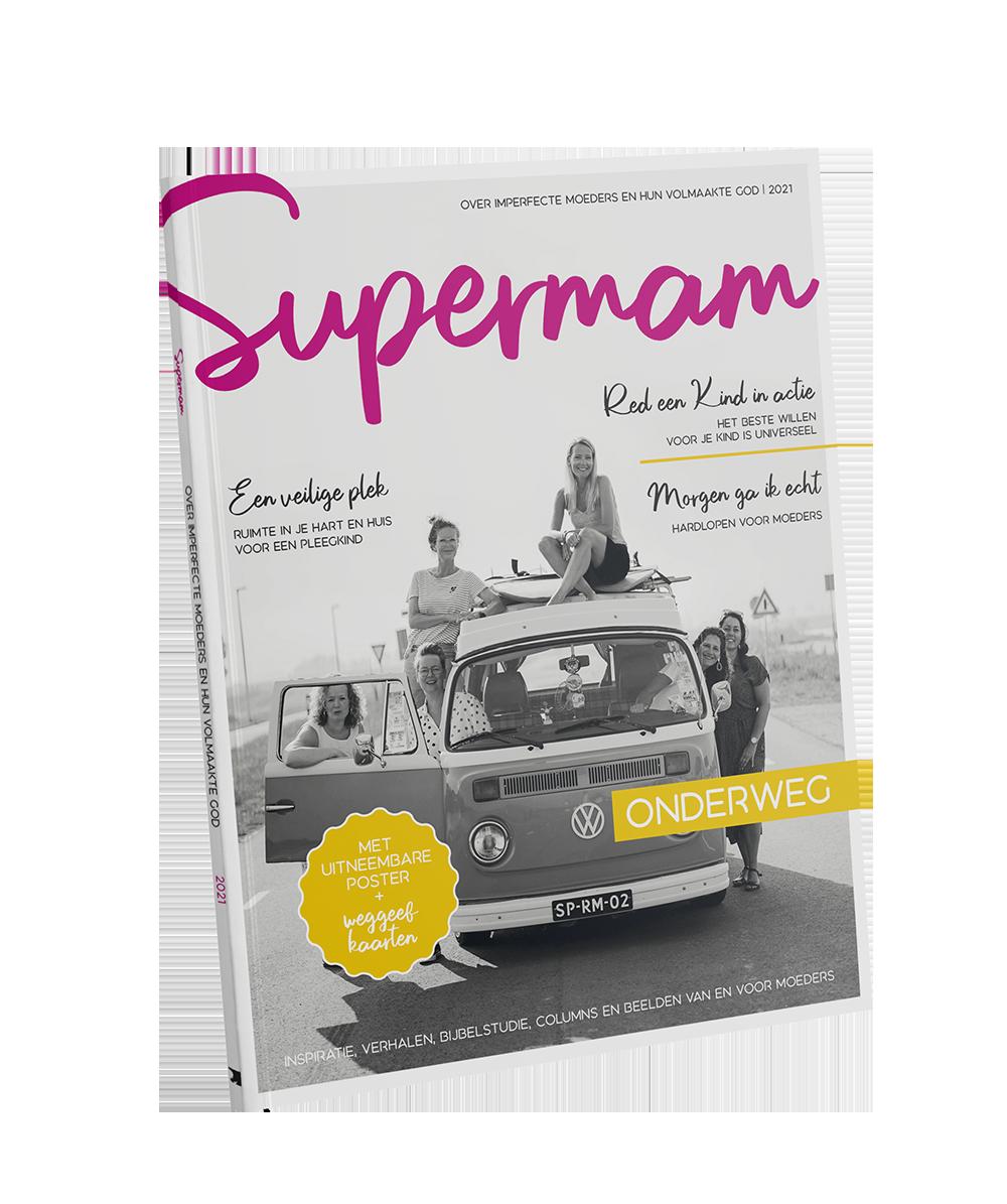 zo ziet het magazine Supermam eruit.